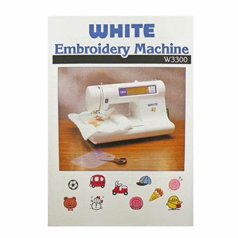 Instruction Book White W3300