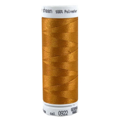 Mettler Polysheen in Ashley Gold, 220yd Spool