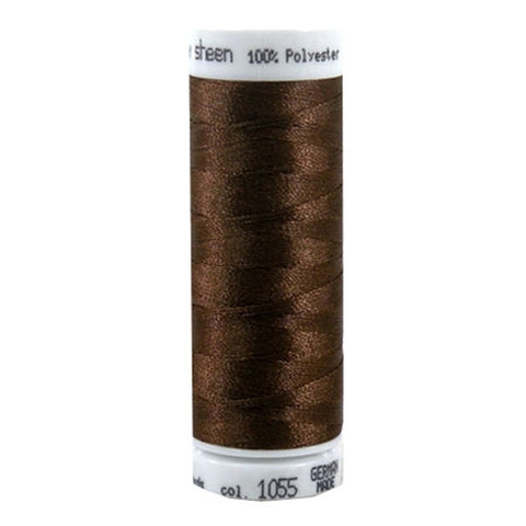 Mettler Polysheen in Bark, 220yd Spool