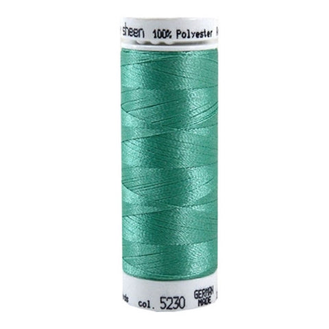 Mettler Polysheen in Bottle Green, 220yd Spool