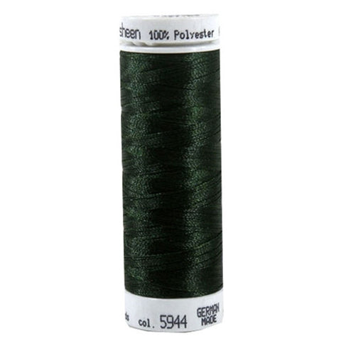 Mettler Polysheen in Backyard Green, 220yd Spool