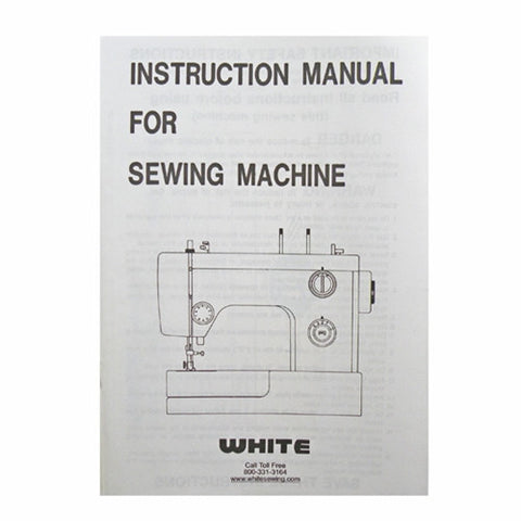 Sewing Machine And Serger Instruction Books Videos Tagged Delectable White Sewing Machine Model 1265
