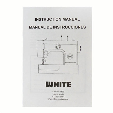 Instruction Book for White 1755, 1455