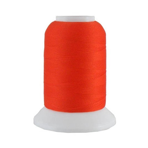 YLI Woolly Nylon in Pumpkin, 1000m Spool