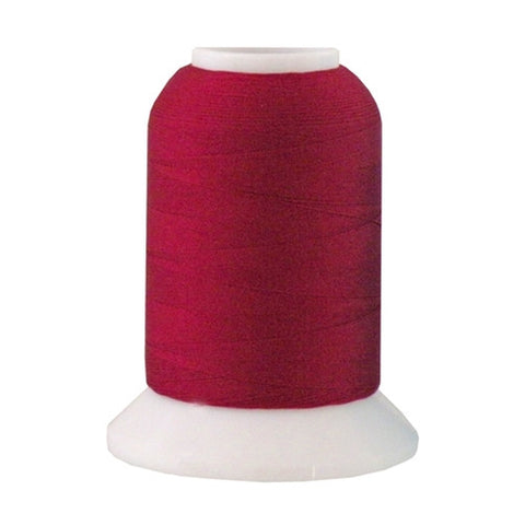 YLI Woolly Nylon in Burgundy, 1000m Spool