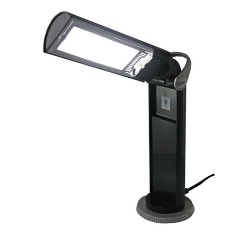 Daylight 13w Twist Portable Lamp in Black