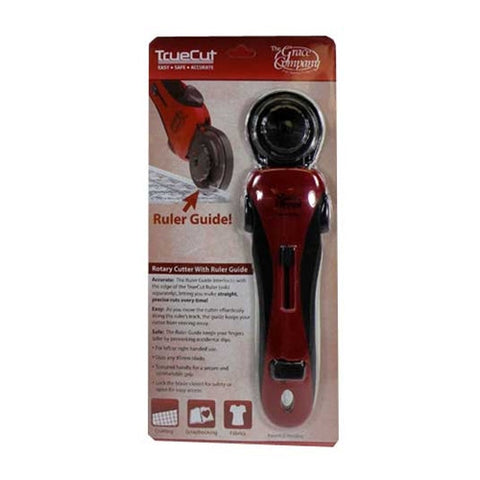 TrueCut 45mm Rotary Cutter with Track Guide