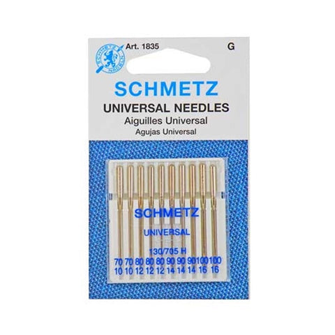 70-100 Schmetz Assorted Universal Needle in a 10 Pack