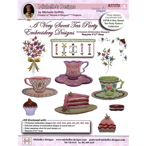 A Very Sweet Tea Party Designs By Michelle S Designs