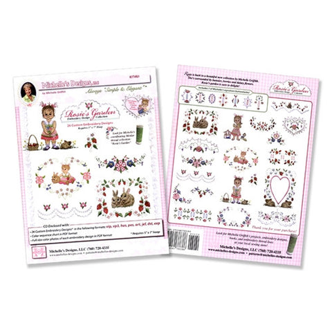 Rosie's Garden Design Collection by Michelle's Designs