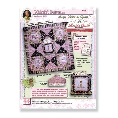 Rosie's Quilt & Accessories by Michelle's Design