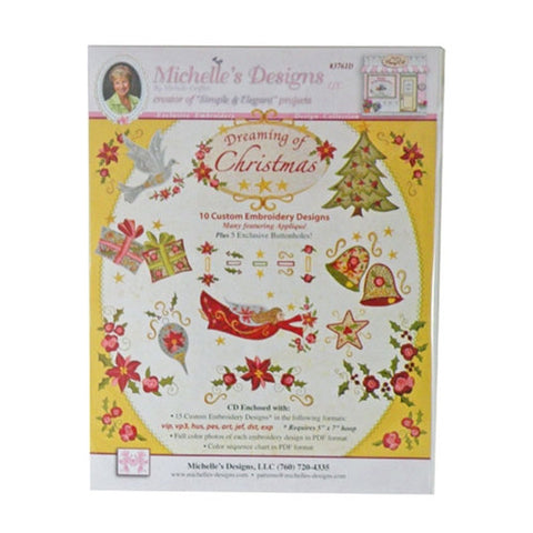 Dreaming of Christmas CD by Michelle's Designs