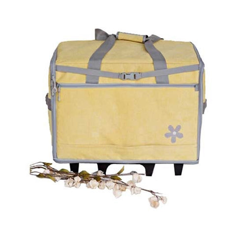 "Bluefig 23"" Wheeled Sewing Machine Bag in Daisy"