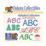 Dakota Collectibles Alphabet Embroidery Design