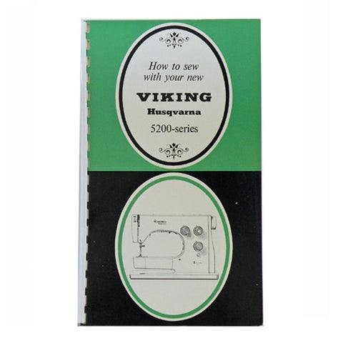 Instruction Book for Viking 5200 Series Machines