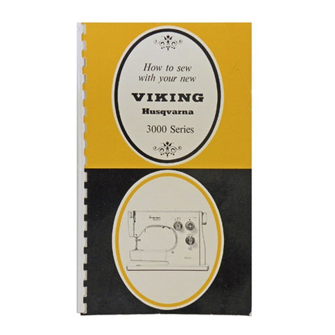 Instruction Book for Viking 3000 Series Machines
