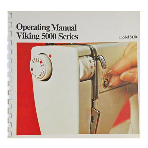 Instruction Book for Viking 5430