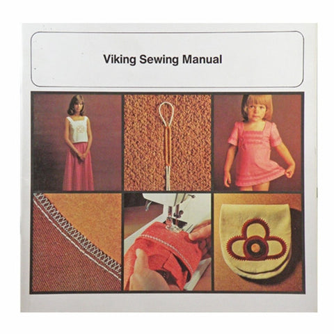 Instruction Book for Viking Sewing Machine, Year 1977