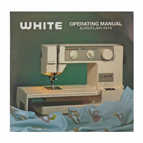 Sewing Machine And Serger Instruction Books Videos Tagged Custom White Sewing Machine Model 1265
