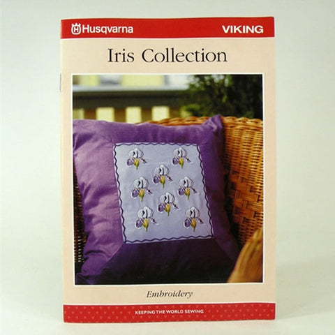 Sampler Design Book for Husqvarna Viking Iris
