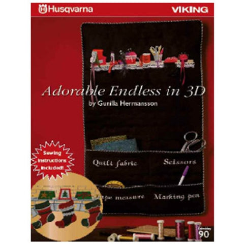 Adorable Endless Embroidery Collection in 3D Embroidery CD #90