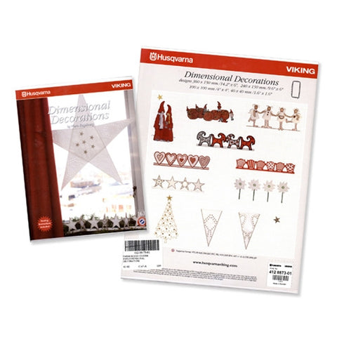 Dimensional Decorations Embroidery CD #163