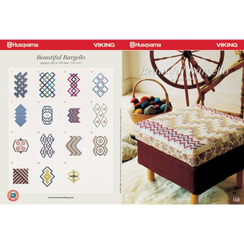 Beautiful Bargello Embroidery CD #168