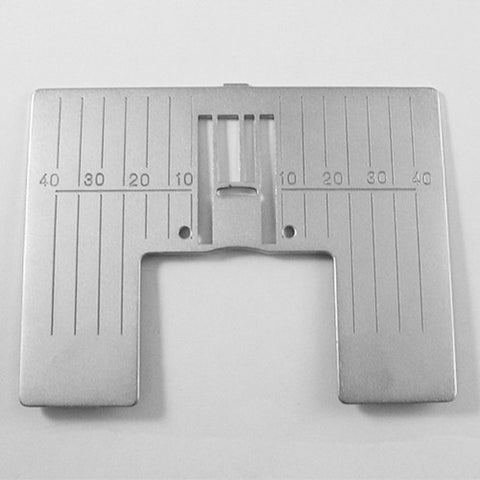 Zig Zag Needle Plate in Metric for Viking Diamond,