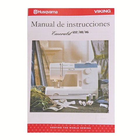 Instruction Book in Spanish for Viking Emerald 116, 11