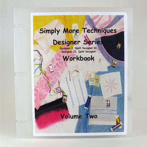 Simply More Techniques Designer Series Workbook Vol.2