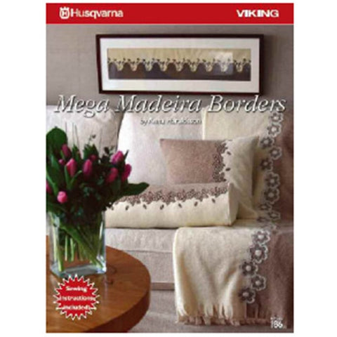 Mega Madeira Borders Embroidery CD #186