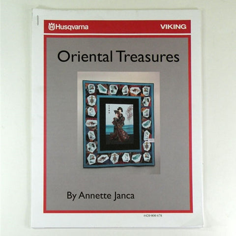 Oriental Treasures by Annette Janca