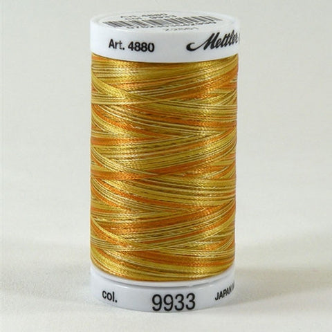 Mettler Polysheen Multi in Amber Mix, 875yd
