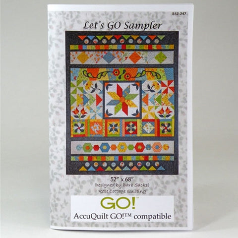 Let's GO! Sampler Pattern by Accuquilt