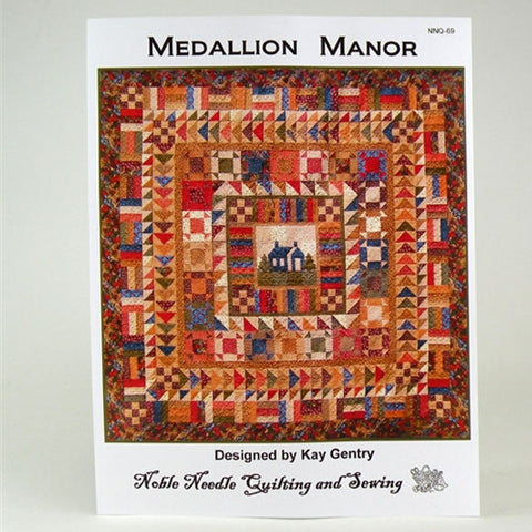 Medallion Manor Pattern by Accuquilt