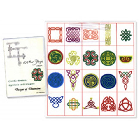 Celtic Symbols & Shapes Design CD by Esther Faye