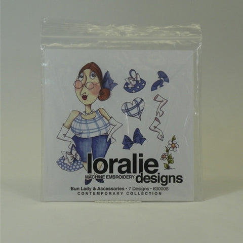 Bun Lady Design CD by Loralie Designs