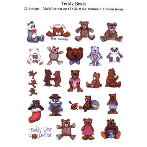 Teddy Bears Design CD by Inspira