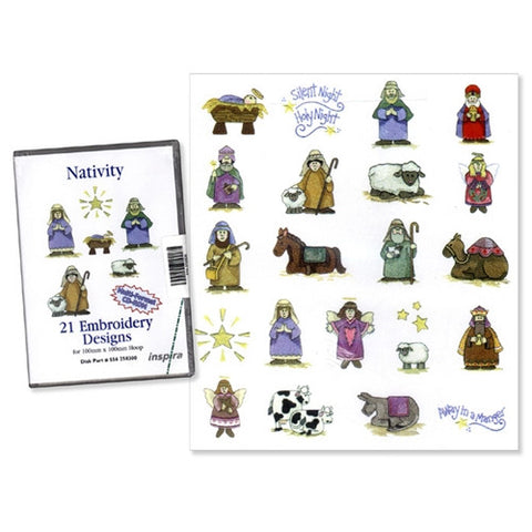 Nativity Design CD by Inspira