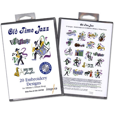 Old Time Jazz Design CD by Inspira