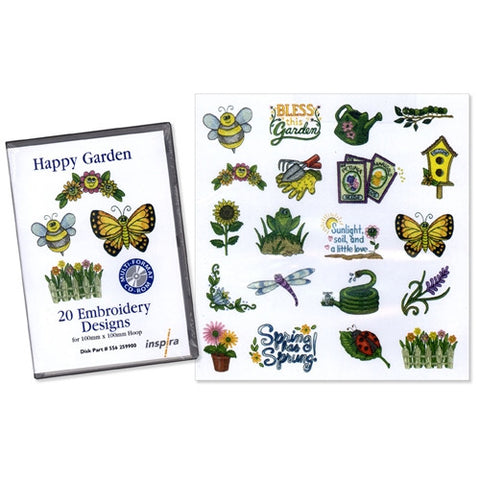 Happy Garden Design CD by Inspira