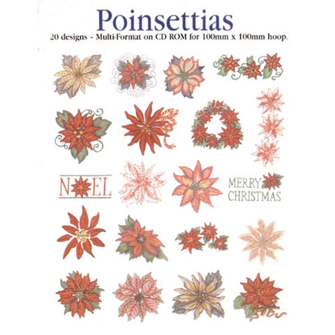 Poinsettias Design CD by Inspira