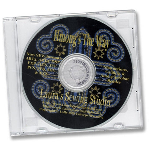 Hmong's the Way Designs CD by Laura's Sewing