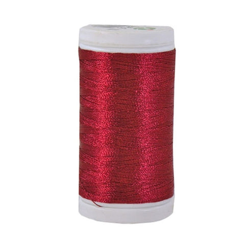 Iris Ultra Brite Polyester in Candy Apple Red, 600yd