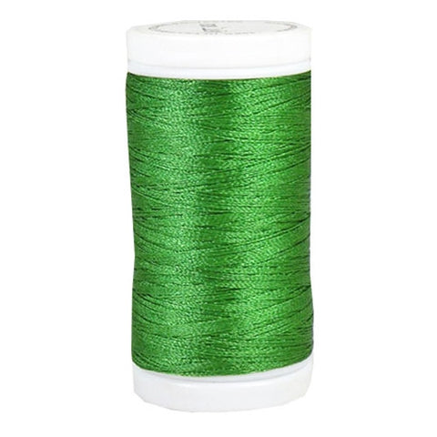 Iris Ultra Brite Polyester in Emerald Green, 600yd