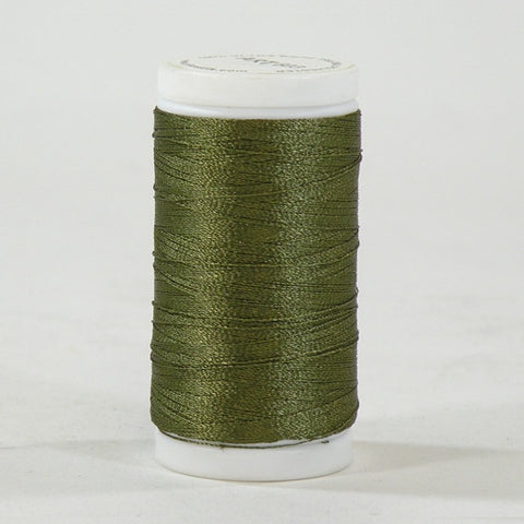 Iris Ultra Brite Polyester in Army Green, 600yd