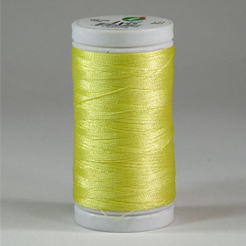 Iris Ultra Brite Polyester in Lemon, 600yd