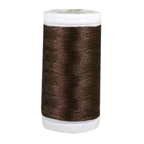 Iris Ultra Brite Polyester in Brown, 600yd