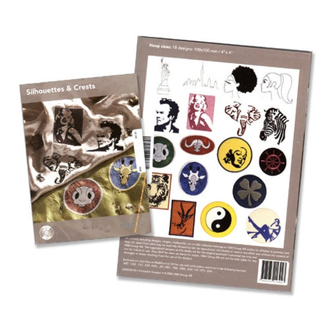Silhouettes & Crests Design CD by Inspira