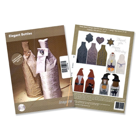 Elegant Bottles Design CD by Inspira